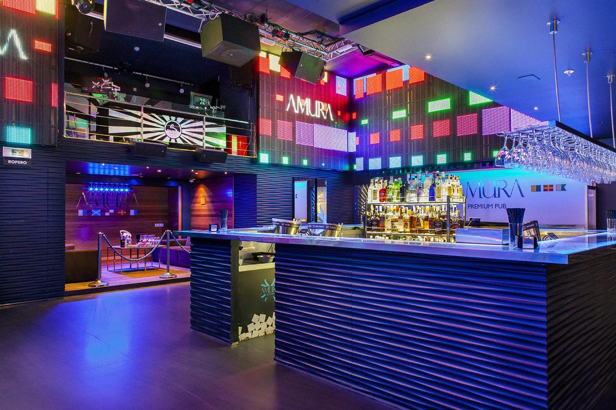 Amura Coruña café pub precios horarios fiestas artistas conciertos