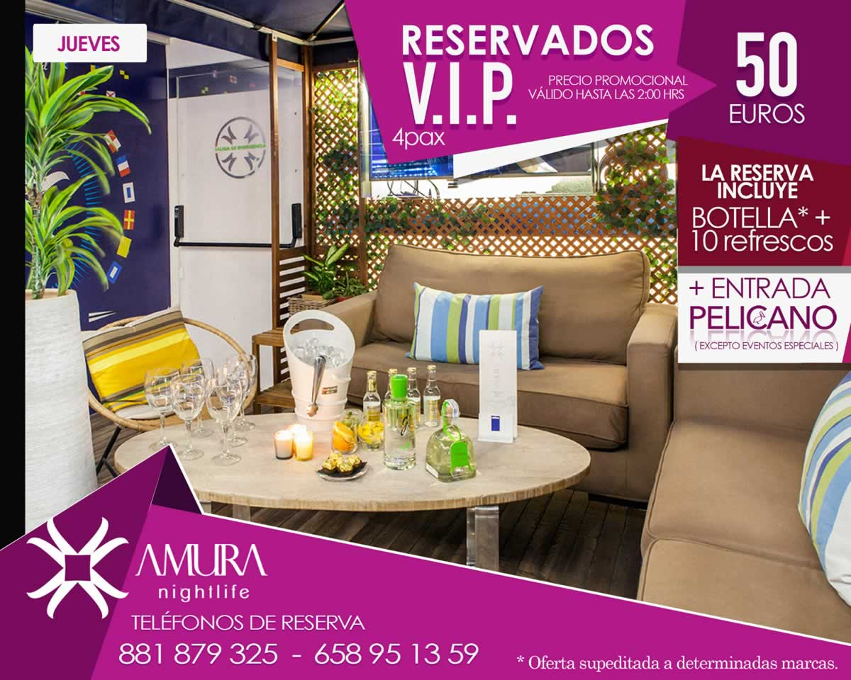 Reservado Chill-out Jueves